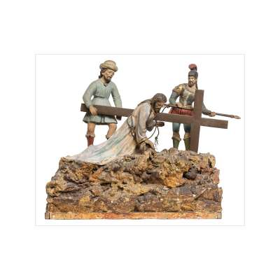 Road to Calvary Diorama