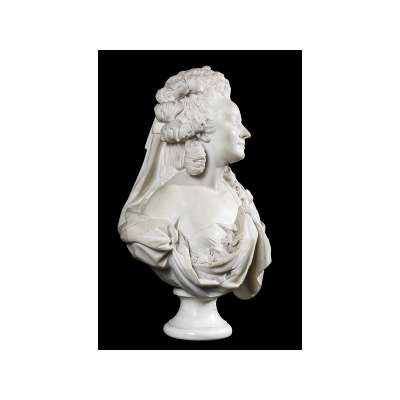 Bust of Dancer Marie-Madeleine Guimard