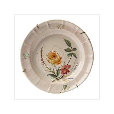 Manises / Ribesalbes Floral Plate
