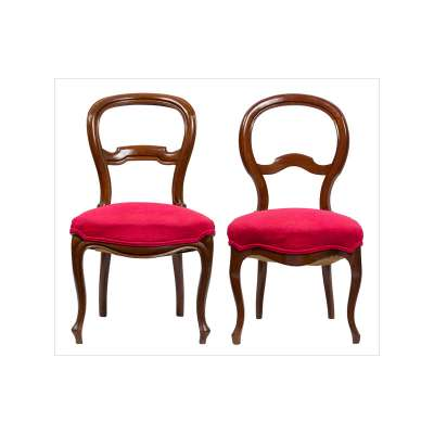 Unmatched Pair of Spanish Isabelinas Chairs