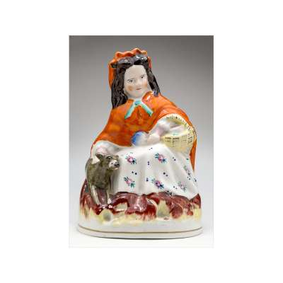 Figurine of 'Little Red Riding Hood'