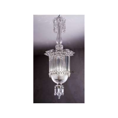 Pendant Chandelier with Long Crystals