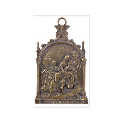 Devotional Plaque of the Flight into Egypt