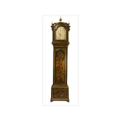 'French' Grandfather Clock with Oriental Motif