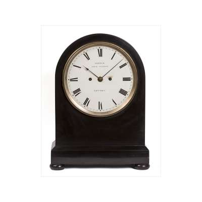 Marble Mantel Clock by Santiago James Moore French