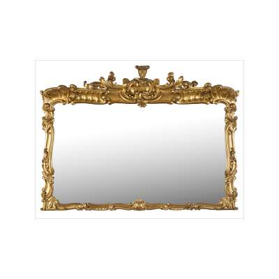 Mirror with Figurative Frame