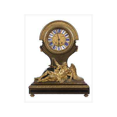 Boulle 'Chronos' Mantel Clock