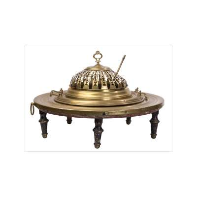Brazier with Decorative Cover
