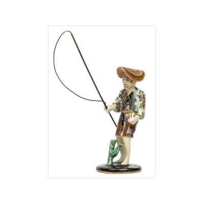 Little Fisherman Figurine