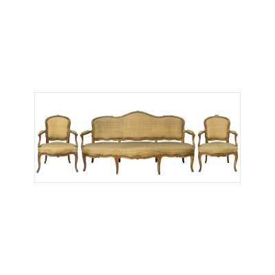 Sofa and Two Matching Chairs