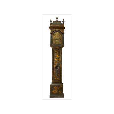'Windmills' Grandfather Clock with Oriental Motif