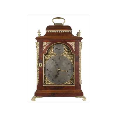 John Taylor Bracket Clock with Handle