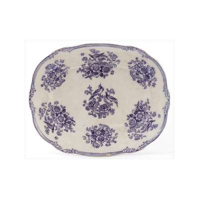 Oval Sargadelos Serving Plate