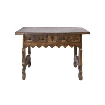 Spanish Writing Table with Drawers